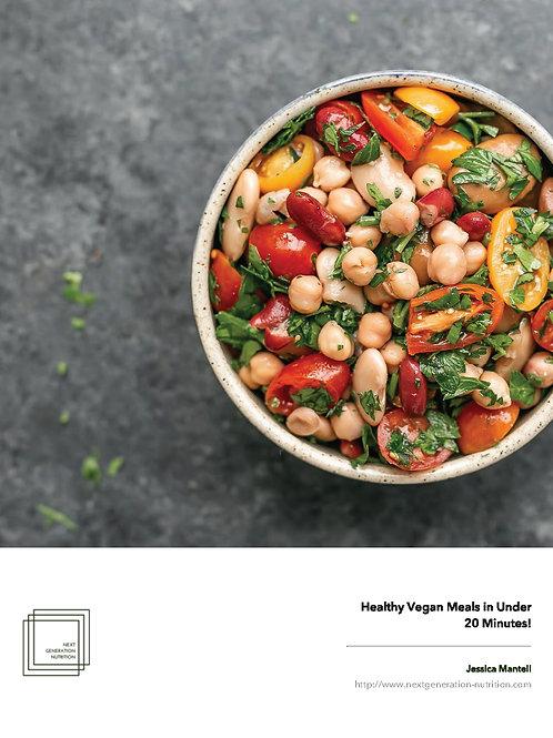 Healthy Vegan Meals Under 20 Minutes
