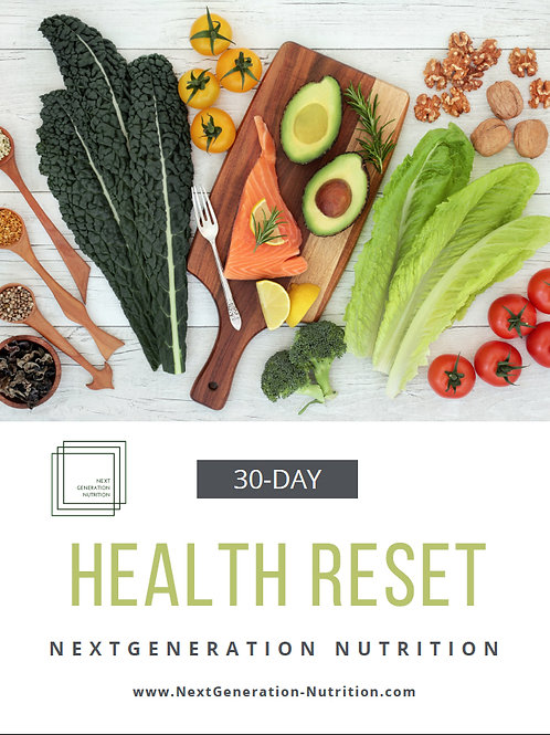 30 Day Health Reset Guide