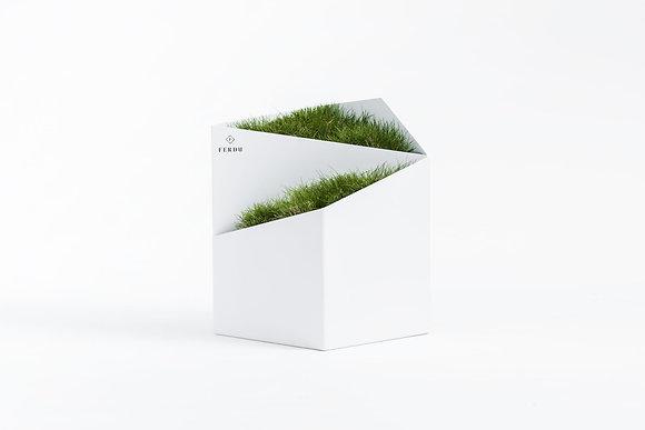 Planter 'Ferdu' - Doblu White