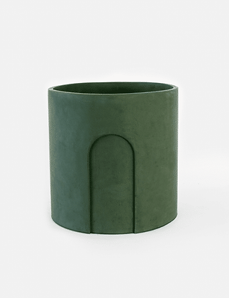 Joe Planter Ø 17 cm 'House Raccoon' - Moss Green