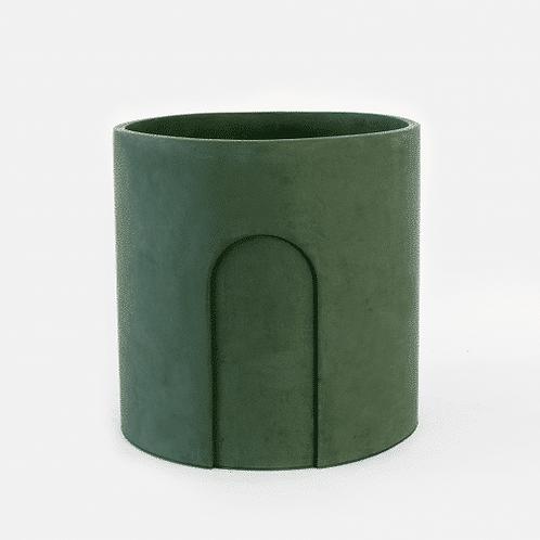 Joe Planter Ø 17 cm 'House Raccoon' - Moss Green