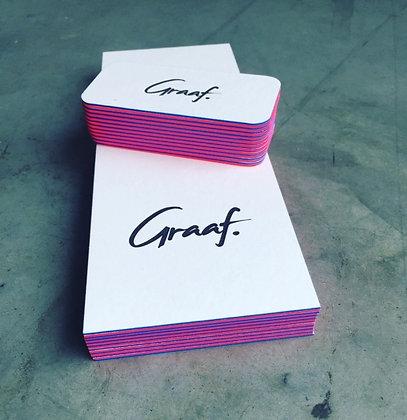 Gift card 'Graaf.' - 1 night