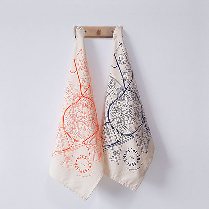Tea towel 'mmmMar' - Mechelen