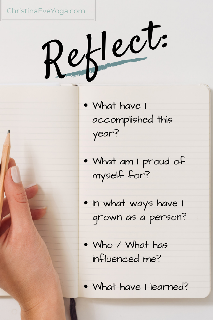 reflect, journal prompt, accomplishment, new years resolution, goals, self growth