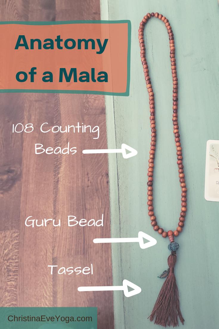 mala beads, anatomy of mala beads