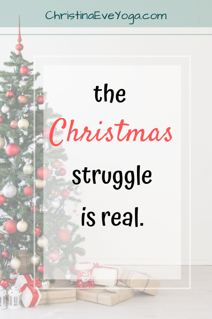 christmas blog struggle depression