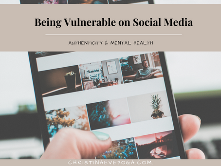Being Vulnerable on Social Media. Authenticity & Mental Health.