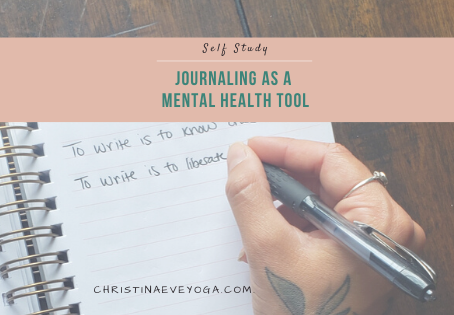 Journaling as a Mental Health Tool