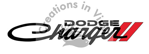 Dodge Charger Windshield Logo