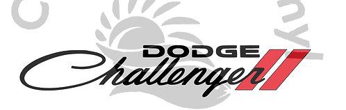 Dodge Challenger Windshield logo