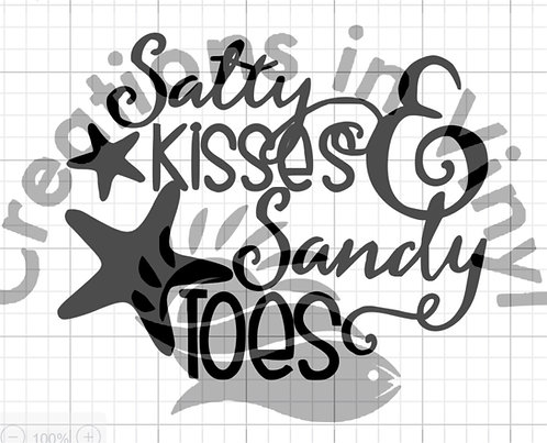 Salty Kisses & Sandy Toes