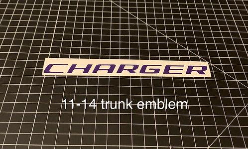 11-14 trunk emblem overlay