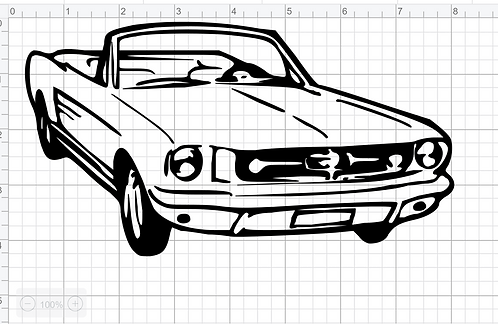 Mustang Silhouette