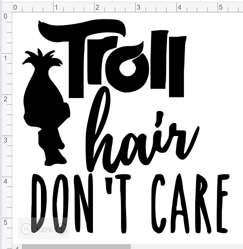 Troll Hair Don't Care