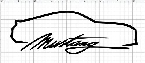 Mustang Silhoutte