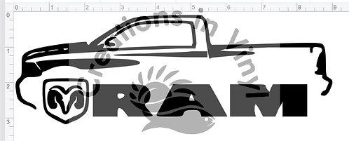 Ram Silhouette Logo