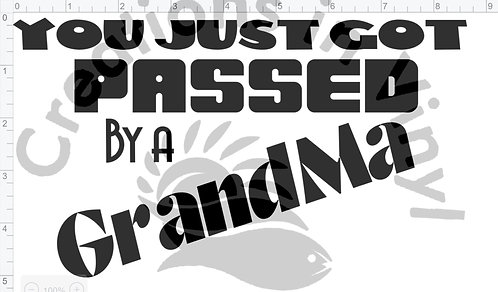 You Just Got Passed by a Grandma