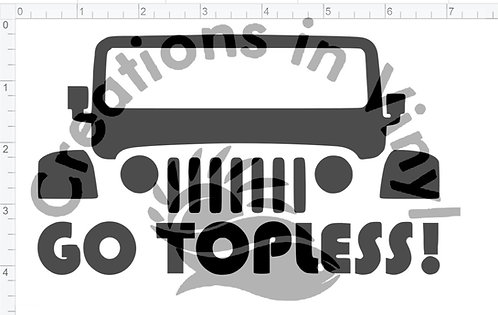 Jeep Go Topless