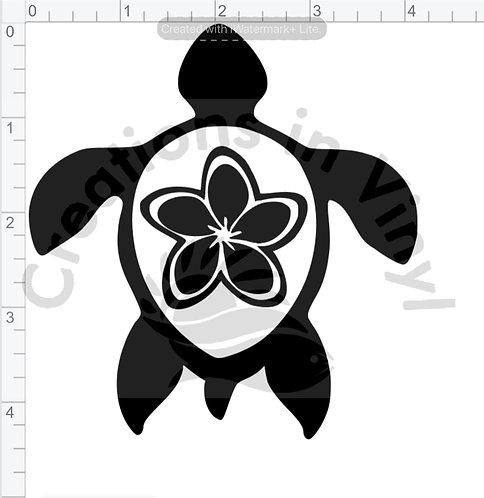 Turtle w/Flower