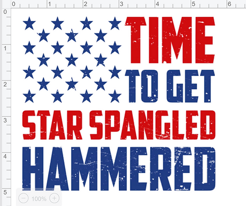 Time to Get Star Spangled Hammered