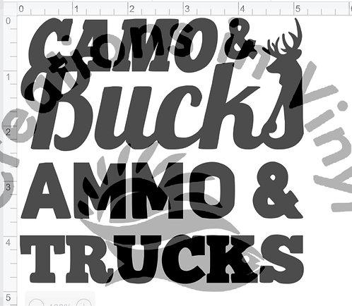 Camo Bucks Ammo & Trucks