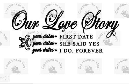 1ST DATE, SHE SAID YES, I DO
