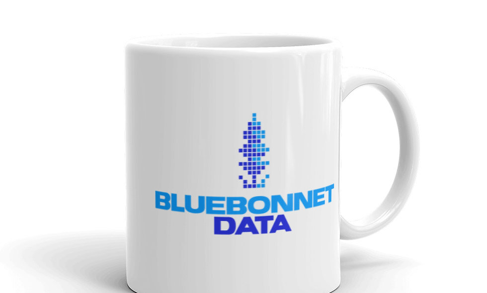 Bluebonnet Data Mug