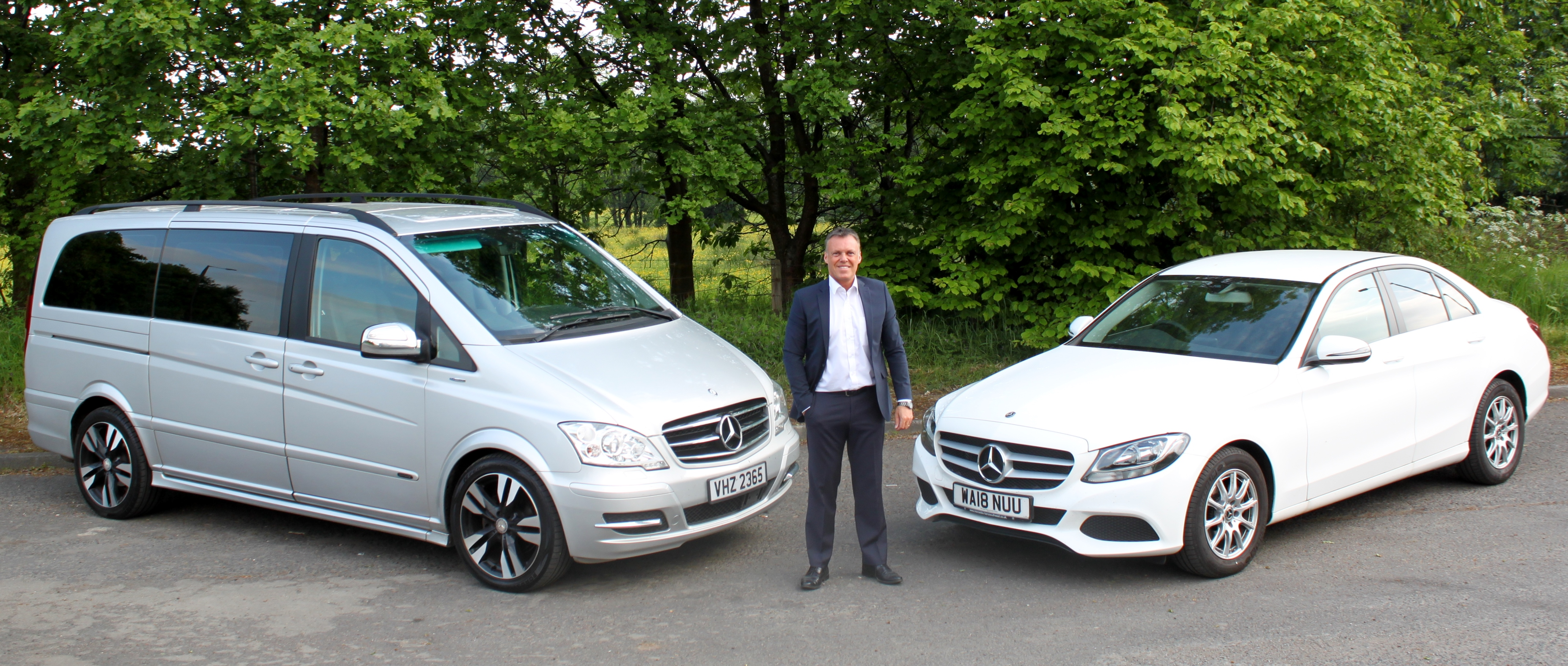 Mercedes V-Class and C-Class