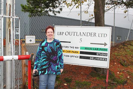 Danielle from Australia enjoying a personal Outlander Tour