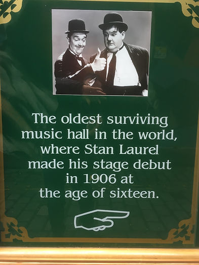 The Oldest music hall in the world, Argyll St, Glasgow