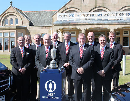 Driving The Open Championship Patrons
