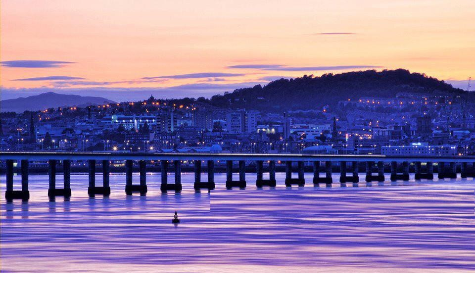 The Tay Road Bridge, Dundee