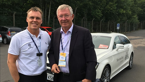 Personal driver to Sir Alex Ferguson