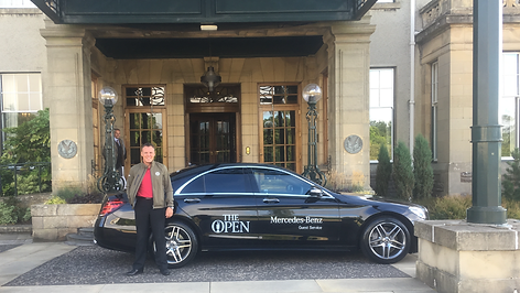 Driving at The 147th Open at Carnoustie 2018
