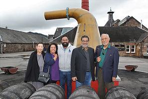 Balblair Distillery Tour