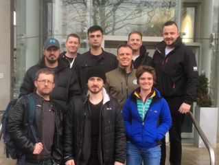 The December Close Protection team 2017
