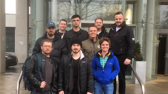 The Close Protection Graduates at Phoenix Security HQ, Birmingham