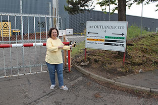 Outlander No 1 Tour Cumbernauld Film Studios