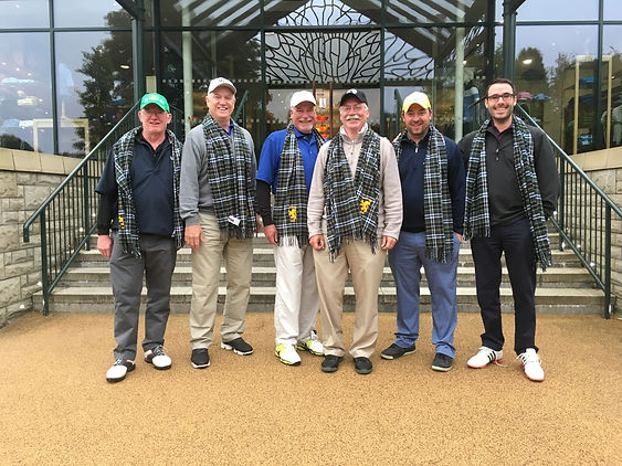 Boston golfers playing at Carnoustie and Gleneagles
