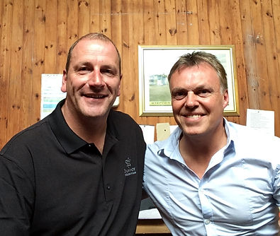 Interview with Alan Tait on the Scottish Golf Radio Show