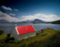 North Coast 500 The Red Roof Croft, Shieldaig, Loch Torridon