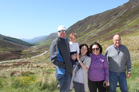 Day trip to The Highlands with Loch Maree in the background