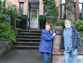 Rod and Carol visiting 30 Outlander locations in 1 day