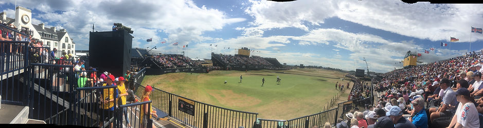 The 147th Open at Carnoustie 2018