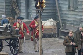 Rodney Johnston Outlander Filming Extra