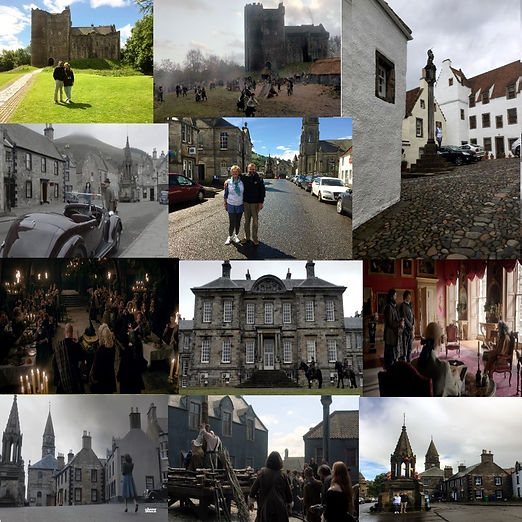 The Number 1 Outlander Tour the best of Series 1,2,3&4