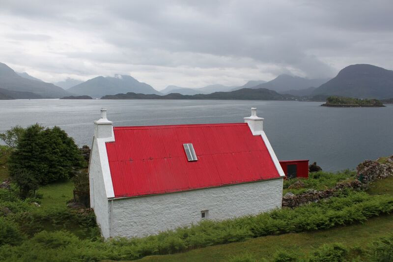 The iconic croft at Shieldaig, Wester Ross