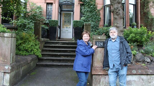 Rod & Carol from Wisconsin on the best Outlander Tour