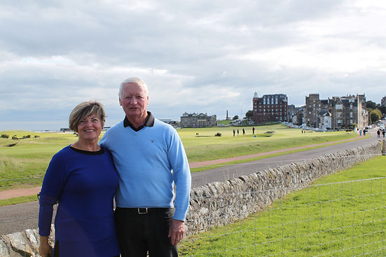 Laurie & Brenda Williams from Brantford, Ontario, Canada on a day trip from their cruise ship