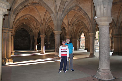 Peter & Sandra from Australia Outlander and Sightseeing Tour